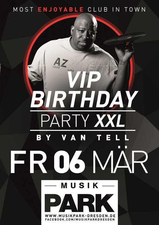 vip birthday party xxl musikpark dresden dresden veranstaltungen clubs. Black Bedroom Furniture Sets. Home Design Ideas